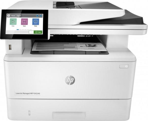 HP LaserJet Managed MFP E42540f A4 40S. SW. MF Netzwerk Fax 3PZ75A