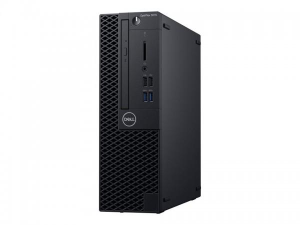 Dell OptiPlex 3070 - SFF - Core i3 9100 / 3.6 GHz - RAM 4 GB - HDD 1 TB - DVD-Writer - UHD Graphics