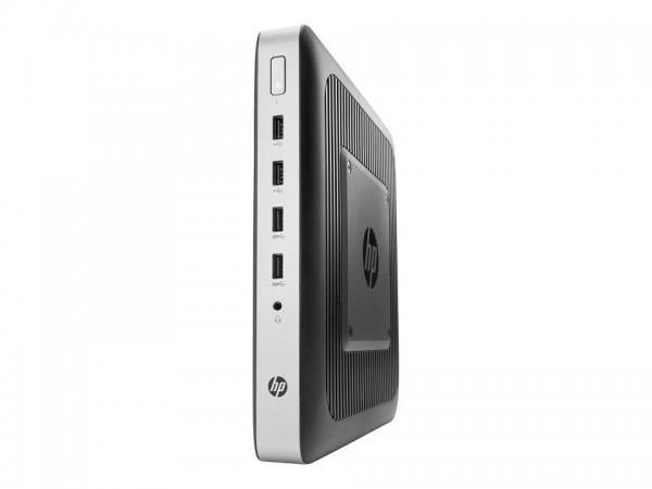 HP t630 - Thin Client - Tower - 1 x GX-420GI 2 GHz - RAM 8 GB - Flash 32 GB - Radeon R7E - GigE - Wi