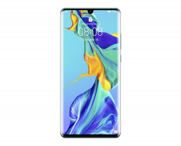 Huawei P30 Pro. Bildschirmdiagonale: 16,4 cm (6.47 Zoll), Bildschirmauflösung: 2340 x 1080 Pixel, Di