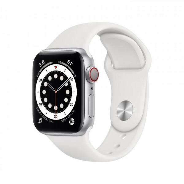 Apple Watch Series 6. Display-Typ: OLED, Bildschirmauflösung: 324 x 394 Pixel, Touchscreen. Flash-Sp