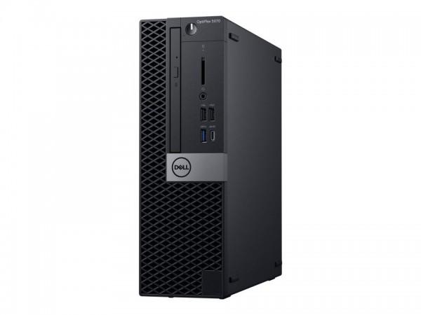 Dell OptiPlex 5070 - SFF - Core i7 9700 / 3 GHz - RAM 8 GB - SSD 256 GB - DVD-Writer - UHD Graphics