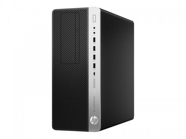 HP EliteDesk 800 G5 - Tower - Core i7 9700 / 3 GHz - RAM 16 GB - SSD 1 TB - NVMe - DVD-Writer - UHD