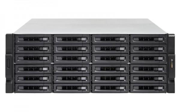 QNAP TS-2483XU-RP. Gesamte installierte Speicherkapazität: 384 TB, Typ des installierten Speicherlau
