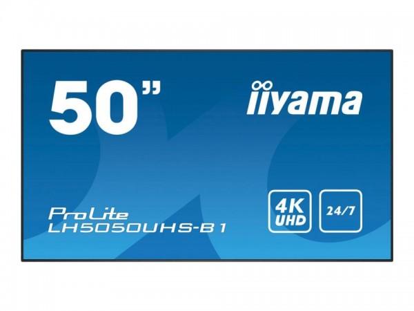 """iiyama ProLite LH5050UHS-B1 - 126 cm (50"""") Diagonalklasse LCD-Display mit LED-Hintergrundbeleuchtung"""