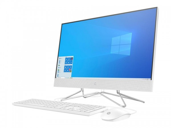 HP 24-df0008ng - All-in-One (Komplettlösung) - Core i3 1005G1 / 1.2 GHz - RAM 8 GB - SSD 256 GB - NV