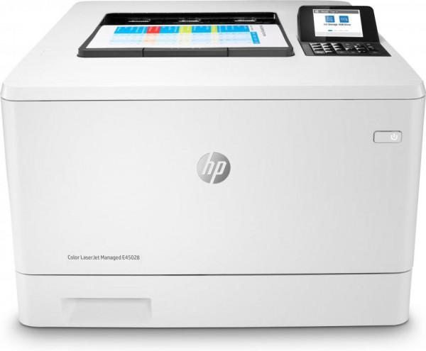HP LaserJet E45028dn. Drucktechnologie: Laser, Farbe. Zahl der Druckpatronen: 4, Maximale Auslastung