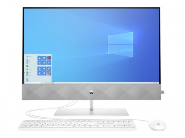 HP Pavilion 27-d0004ng - All-in-One (Komplettlösung) - Core i7 10700T / 2 GHz - RAM 16 GB - SSD 256