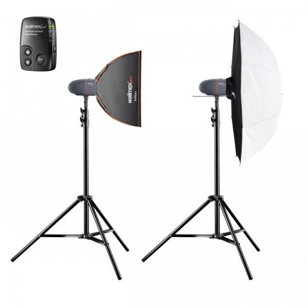 Walimex Set Studioflashes 2.2. AC Eingangsspannung: 220-240 V, AC Eingangsfrequenz: 50 Hz, Stromstär