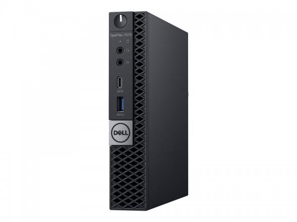 Dell OptiPlex 7070 - Micro - Core i5 9500T / 2.2 GHz - RAM 16 GB - SSD 256 GB - UHD Graphics 630 - G