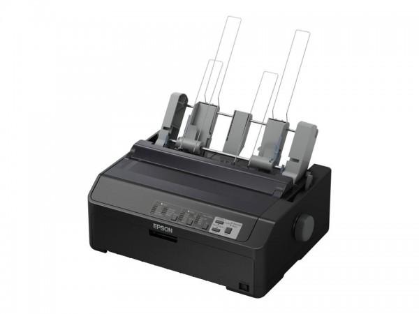 Epson LQ 590IIN - Drucker - s/w - Punktmatrix - Rolle (21,6 cm), JIS B4, 254 mm (Breite) - 360 x 180