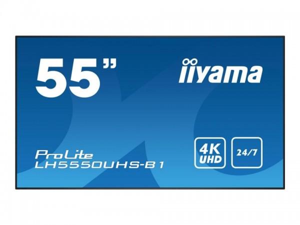 """iiyama ProLite LH5550UHS-B1 - 140 cm (55"""") Diagonalklasse (139 cm (55"""") sichtbar) LED-Display - Digi"""