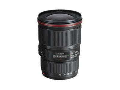 Canon EF - Weitwinkel-Zoom-Objektiv - 16 mm - 35 mm - f/4.0 L IS USM - Canon EF - für EOS 100, 1200,