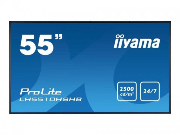 "iiyama ProLite LH5510HSHB-B1 - 138.8 cm (55"") Diagonalklasse LCD-Display mit LED-Hintergrundbeleucht"