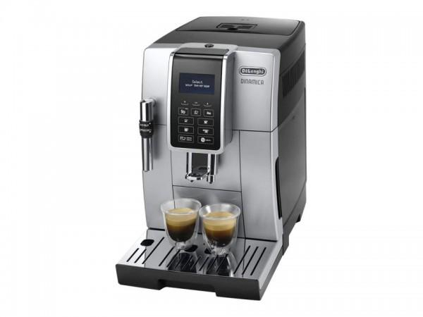 De'Longhi DINAMICA ECAM 350.35.SB - Automatische Kaffeemaschine mit Cappuccinatore - 15 bar - Silver