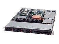 Supermicro SC113 TQ-R650UB - Rack-Montage - 1U Prozessor Festplatte CSE-113TQ-R650UB