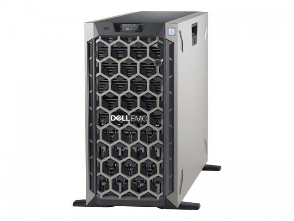 Dell EMC PowerEdge T640 - Server - Tower - 5U - zweiweg - 1 x Xeon Silver 4110 / 2.1 GHz - RAM 16 GB