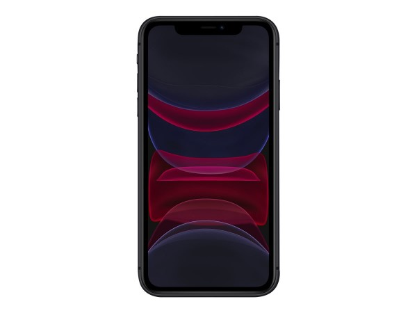 "Apple iPhone 11 - Smartphone - Dual-SIM - 4G Gigabit Class LTE - 64 GB - 6.1"" - 1792 x 828 Pixel (32"