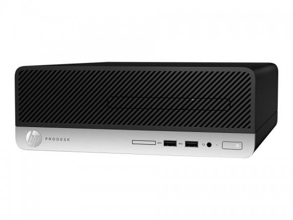 HP ProDesk 400 G6 - SFF - Core i7 8700 / 3.2 GHz - RAM 8 GB - SSD 256 GB - NVMe - UHD Graphics 630 -