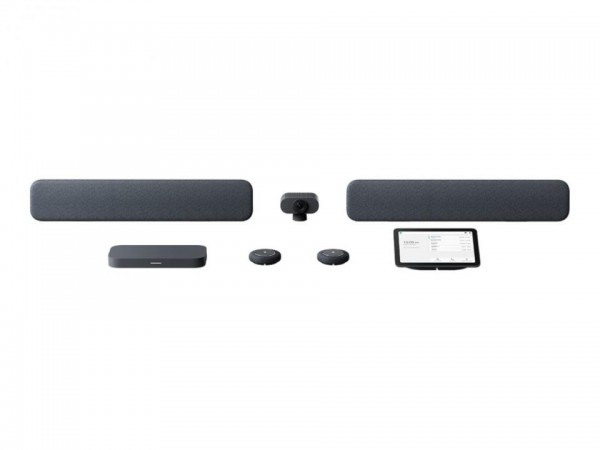Lenovo Google Meet Series One - Large Room Kit - Kit für Videokonferenzen - holzkohlefarben