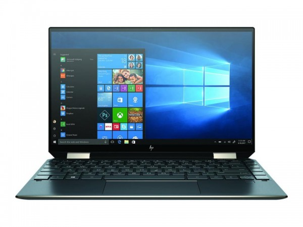HP Spectre x360 13-aw0021ng - Flip-Design - Core i7 1065G7 / 1.3 GHz - Win 10 Home 64-Bit - 16 GB RA