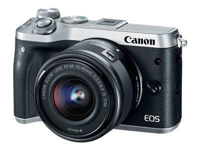 Canon EOS M6 - Digitalkamera - spiegellos - 24.2 MPix 1725C022