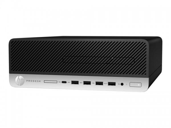 HP ProDesk 600 G5 - SFF - Core i5 9500 / 3 GHz - RAM 8 GB - SSD 256 GB - NVMe - DVD-Writer - UHD Gra