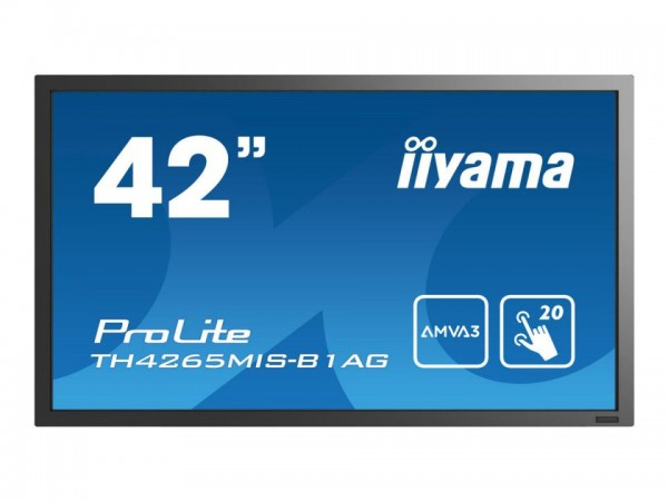 "iiyama ProLite TH4265MIS-B1AG - 106.7 cm (42"") Diagonalklasse LCD-Display mit LED-Hintergrundbeleuch"