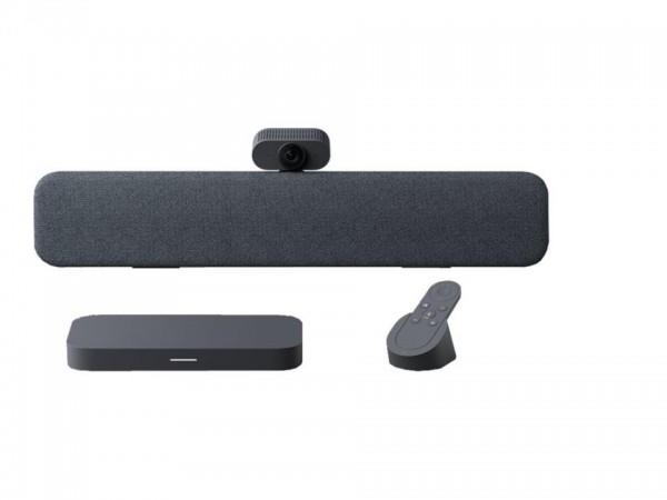 Lenovo Google Meet Series One - Small Room Kit - Kit für Videokonferenzen - holzkohlefarben