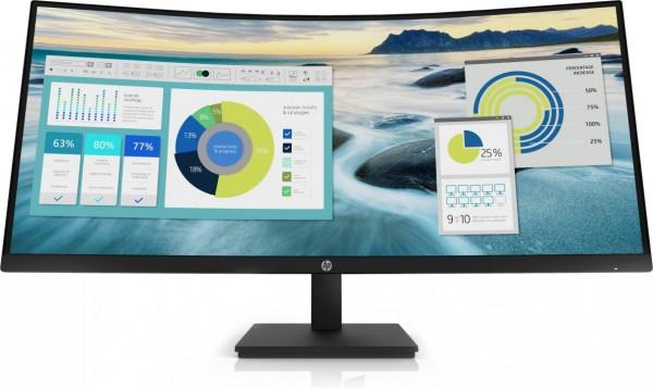 HP P34hc G4. Bildschirmdiagonale: 86,4 cm (34 Zoll), Bildschirmauflösung: 3440 x 1440 Pixel, HD-Typ:
