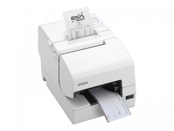 Epson TM - Belegdrucker - Thermozeile/Punktmatrix - 230 x 297 mm, Rolle (7,95 cm) - 180 x 180 dpi -