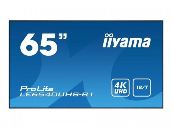 "iiyama ProLite LE6540UHS-B1 - 165 cm (65"") Diagonalklasse (164 cm (64.6"") sichtbar) LCD-Display mit"
