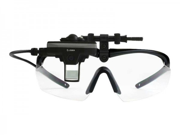 Zebra HD4000 Enterprise Head-Mounted Display - Intelligente Multimedia-Brille - 5 Megapixel Kamera -