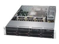 Supermicro SuperServer 6029P-TRT - Server - Rack-Montage - 2U - zweiweg - keine CPU - RAM 0 GB - SAT