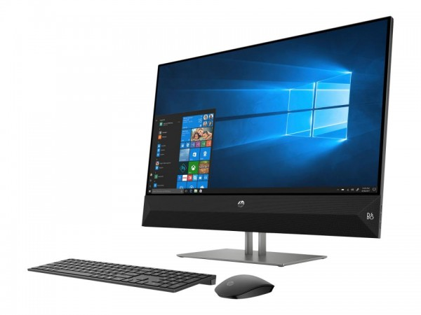 HP Pavilion 27-xa0012ng - All-in-One (Komplettlösung) - Core i5 9400T / 1.8 GHz - RAM 8 GB - SSD 256