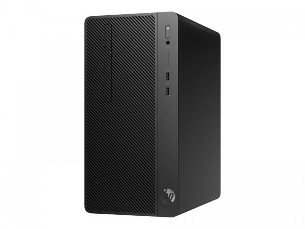 HP 290 G2 - Micro Tower - Core i5 8500 / 3 GHz - RAM 8 GB - SSD 256 GB - NVMe - DVD-Writer - UHD Gra