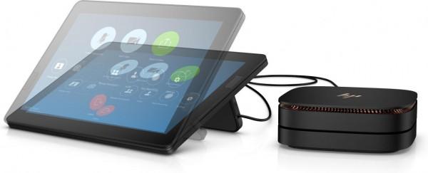 HP Elite Slice G2. Prozessor-Taktfrequenz: 2,7 GHz, Prozessorfamilie: Intel® Core™ i5 der siebten Ge