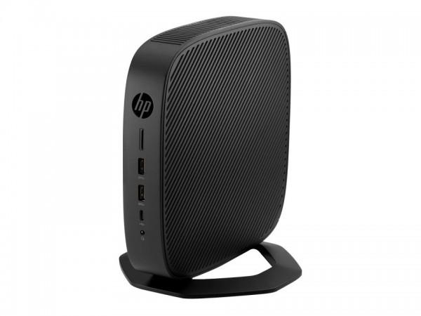HP t640 - Thin Client - SFF - 1 x Ryzen Embedded R1505G / 2.4 GHz - RAM 4 GB - Flash 16 GB - Radeon