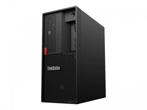 Lenovo ThinkStation P330 (2nd Gen) 30D0 - Tower - 1 x Xeon E-2186G / 3.8 GHz - RAM 32 GB - SSD 512 G
