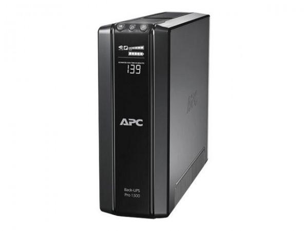APC Back-UPS Pro 1500 - USV - Wechselstrom 230 V - 865 Watt - 1500 VA - USB - Ausgangsanschlüsse: 6