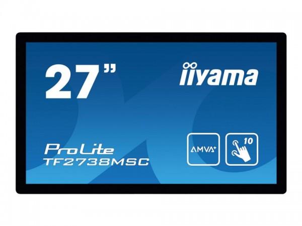 "iiyama ProLite TF2738MSC-B1 - LED-Monitor - 68.6 cm (27"") - offener Rahmen - Touchscreen - 1920 x 10"