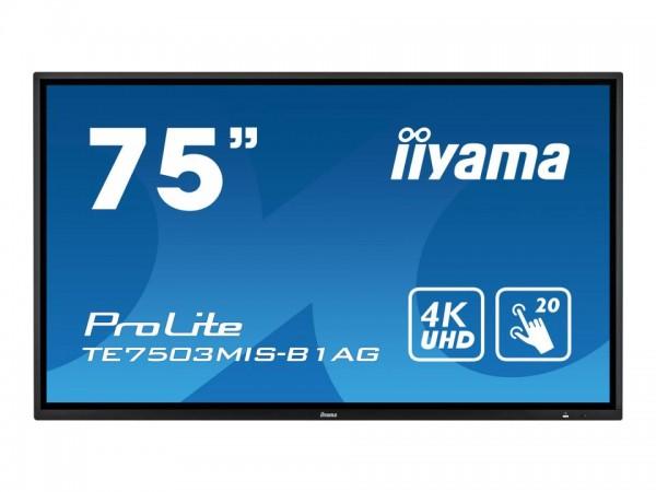 "Iiyama ProLite TE7503MIS-B1AG - 190.5 cm (75"") TE7503MIS-B1AG"