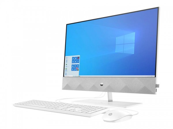 HP Pavilion 24-k0009ng - All-in-One (Komplettlösung) - Core i3 10300T / 3 GHz - RAM 8 GB - SSD 256 G