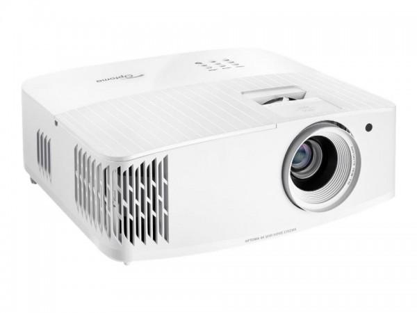Optoma UHD30 - DLP-Projektor - 3D - 3400 ANSI-Lumen - 3840 x 2160 - 16:9 - 4K - weiß