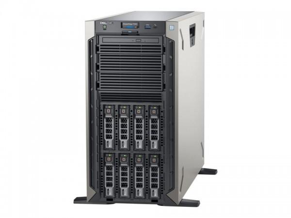 Dell EMC PowerEdge T340 - Server - Tower - 5U - 1-Weg - 1 x Xeon E-2124 / 3.3 GHz - RAM 8 GB - SAS -