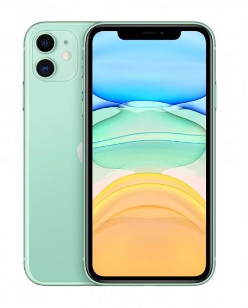 Apple iPhone iPhone 11. Bildschirmdiagonale: 15,5 cm (6.1 Zoll), Bildschirmauflösung: 1792 x 828 Pix
