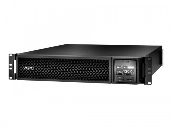 APC Smart-UPS SRT 3000VA RM - USV (Rack - einbaufähig) - Wechselstrom 120 V - 2700 Watt - 3000 VA Bl