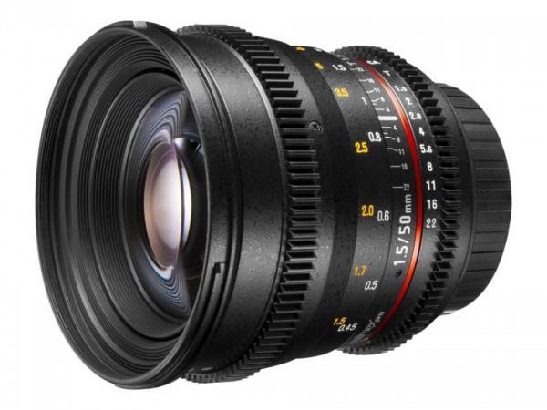 Walimex Pro - Objektiv - 50 mm - f/1.5 - Canon EF