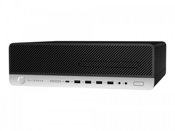 HP EliteDesk 800 G5 - SFF - Core i5 9500 / 3 GHz - RAM 8 GB - SSD 256 GB - NVMe - DVD-Writer - UHD G