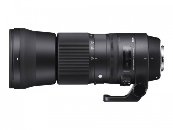 Sigma Contemporary - Telezoomobjektiv - 150 mm - 600 mm - f/5.0-6.3 DG OS HSM - Canon EF